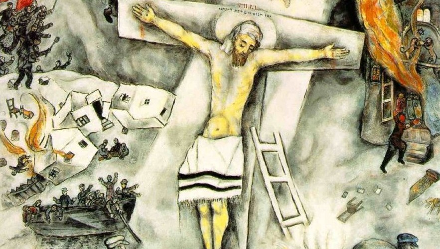 Importante rétrospective Chagall à Bruxelles | The Times ... Chagall Crucifixion Paintings