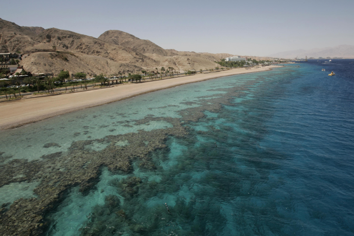 A view of a the Red sea, in Eilat on May 29, 2009. (photo credit: Anna Kaplan/ Flash 90)