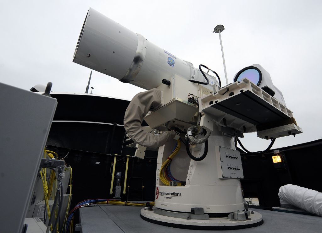 Us Navy To Deploy Futuristic Military Laser To Persian
