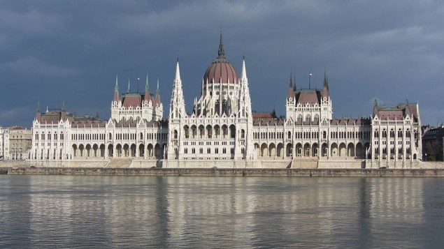 Parlement hongrois à Budapest (Crédit : Candice/Wikimedia commons/CC BY-SA 3.0)