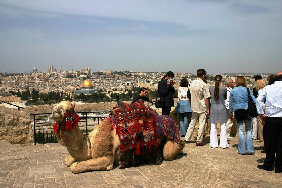 View From Mount Of Olives