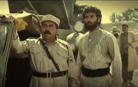 A scene from the Iranian TV series Sarzamin-e Kohan, or The Ancient Land (photo credit: YouTube screen grab)