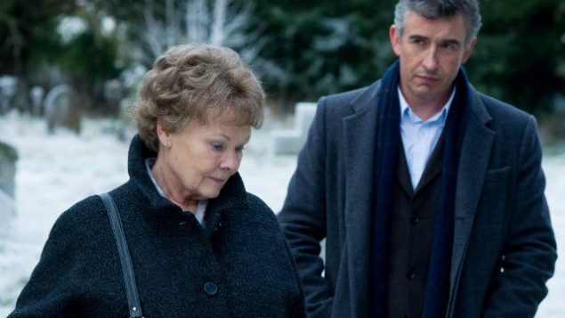"Judy Dench  and Steve Coogan in ""Philomena."" Photo courtesy of The Weinstein Company"
