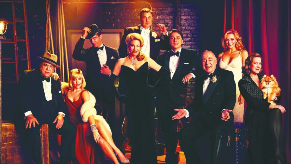 """The cast of the new musical """"Bullets Over Broadway,"""" directed by Susan Stroman. Jason Bell"""