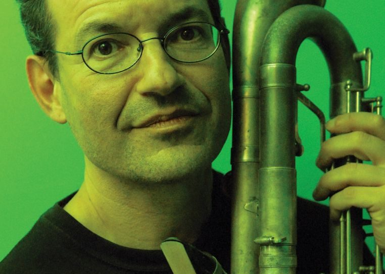 Clarinetist Ben Goldberg: Curating a week of performances. Courtesy of Kasis