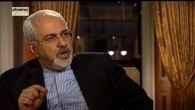 Iranian Foreign Minister Mohammed Zarif, February 3, 2014 (photo credit: Youtube screenshot)