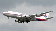 Malaysia airline airplane