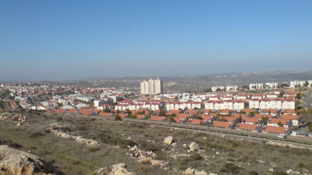 A third of residents in the West Bank settlement of Ariel, above, say they would leave if compensated. Wikimedia Commons