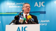 Spanish Justice Minister Alberto Ruiz-Gallardon speaking last week in New York. Courtesy of AJC