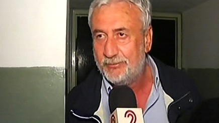 APCO Aviation CEO Anatoly Cohn speaks to Channel 2 News after being released on bail Monday. (screen capture, Channel 2)
