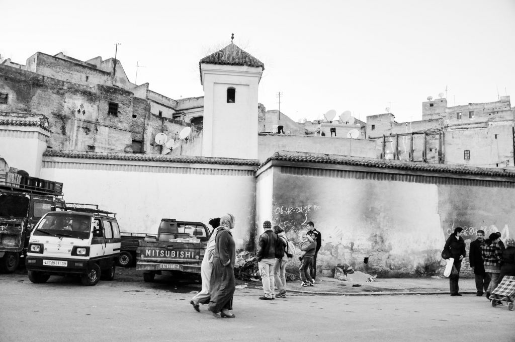 A view of the walled medina, or old city, of Fez. (photo credit: Michal Shmulovich)