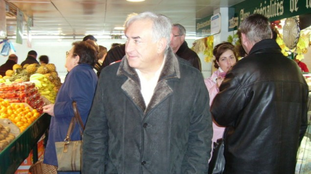 Dominique Strauss-Kahn (Crédit : Wikimedia commons)