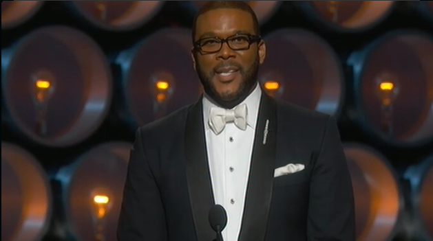 Tyler Perry at the Oscars. (courtesy: Twitter.)