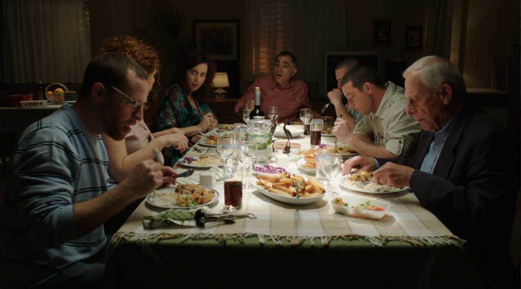 "Family dinner in ""Youth"" (courtesy: Match Factory)"