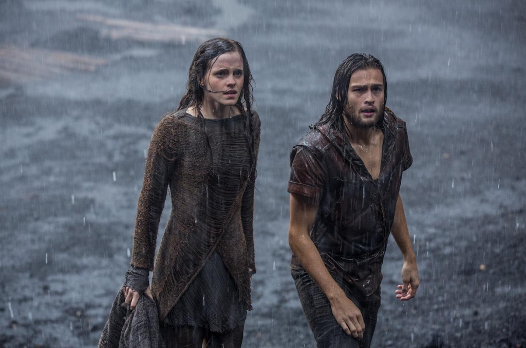 Emma Watson and Douglas Booth in 'Noah' (courtesy: Paramount Pictures)