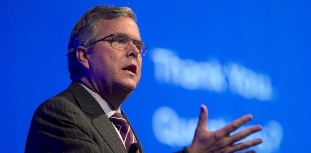 Former Florida Gov. Jeb Bush, a potential 2016 presidential candidate. (photo credit: AP Photo/Wilfredo Lee, File)