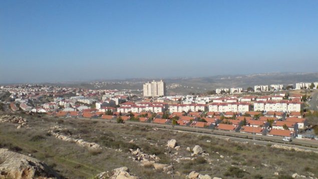 The settler city of Ariel. Wikimedia Commons