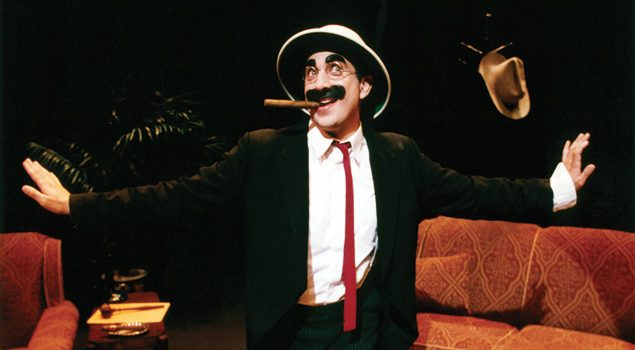 Frank Ferrante channels Groucho. Courtesy of Frank Ferrante