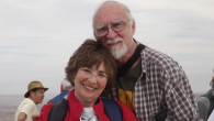 Trevor Davis and Judy Brown married recently; both have been long widowed. Courtesy of Trevor Davis and Judy Brown