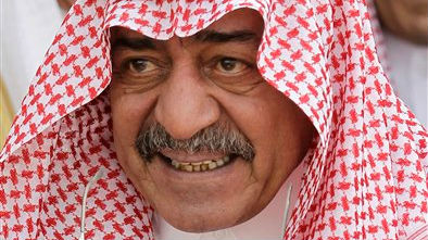 In this Monday, May 14, 2012 photo, Prince Moqren bin Abdulaziz is seen at at Riyadh Base in Riyadh, Saudi Arabia (photo credit: AP/Hassan Ammar, File)