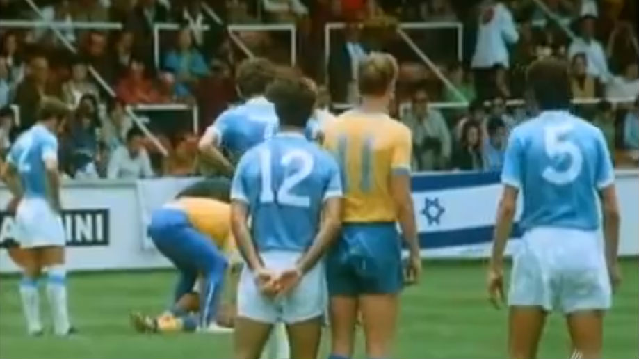 Israel's last World Cup goal came against Sweden in 1970. (YouTube screen capture)