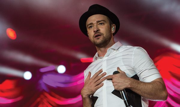 Singer-actor Justin Timberlake's first performance in Israel later this month. Getty Images