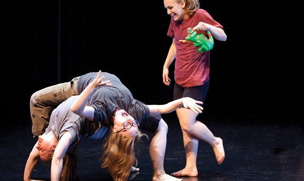 """""""Suite Shel"""" brings Silverstein's whimsical poems into realm of modern dance.  Eileen O'Donnell"""