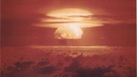 A US nuclear bomb test at the Marshall Islands, 1954 (photo credit: Wikicommons/United States Department of Energy)