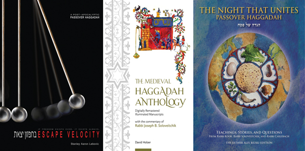 The new crop of Haggadot includes modern and classical artwork, and guides to the holiday's halachic observance.