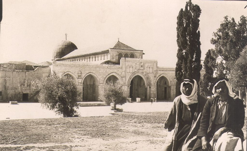 Jerusalem's Al-Aqsa Mosque (undated) (photo credit: © DEIAHL, Jerusalem)