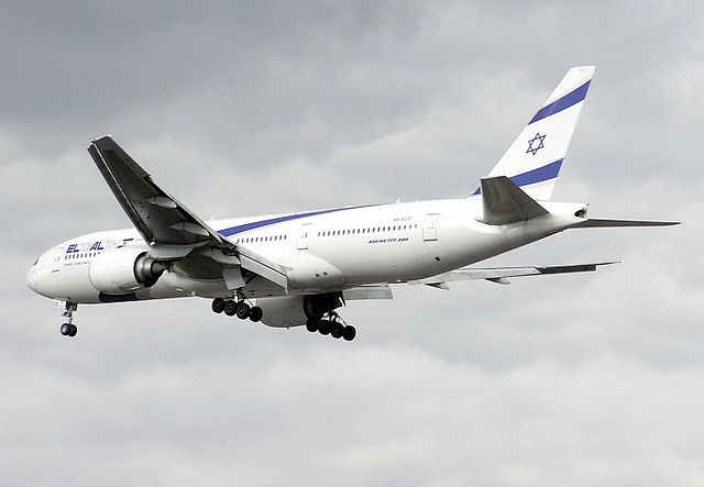 An El Al flight