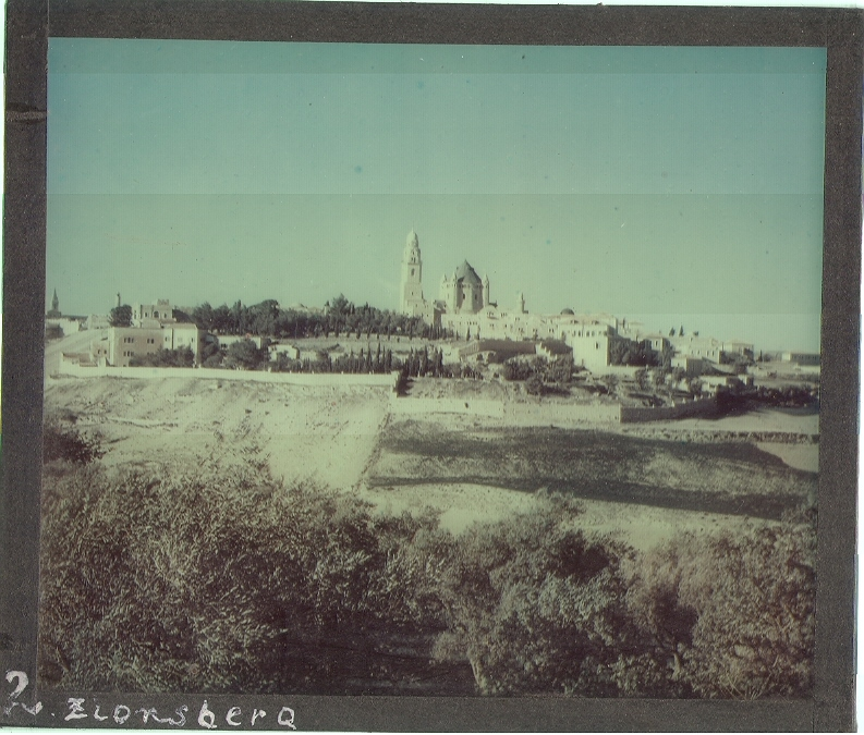 Jerusalem, Mt. Zion (undated) (photo credit: © DEIAHL, Jerusalem)