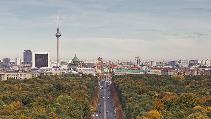Berlin skyline (photo credit: A.Savin/Wikimedia Commons/File)