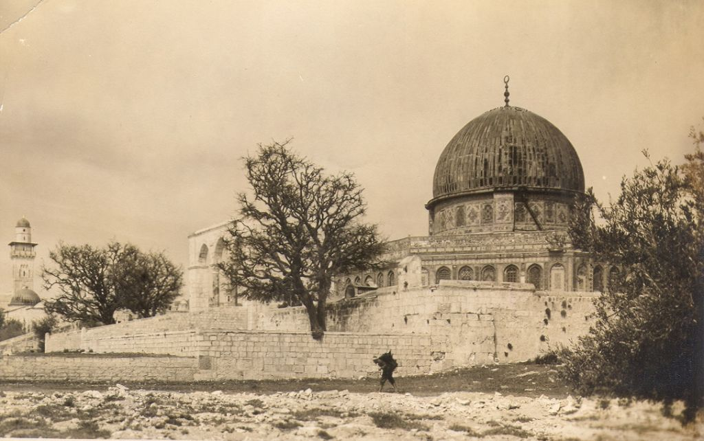 The Dome of the Rock on Jerusalem's Temple Mount (undated) (photo credit: © DEIAHL, Jerusalem)