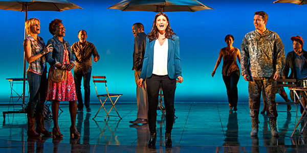 Playing a single woman in the city, Menzel owns the role.