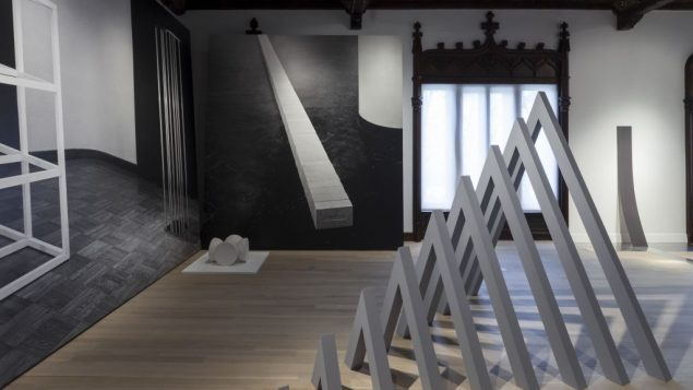 """Installation view of """"Other Primary Structures"""" at The Jewish Museum, New York. Courtesy of David Heald/The Jewish Museum"""