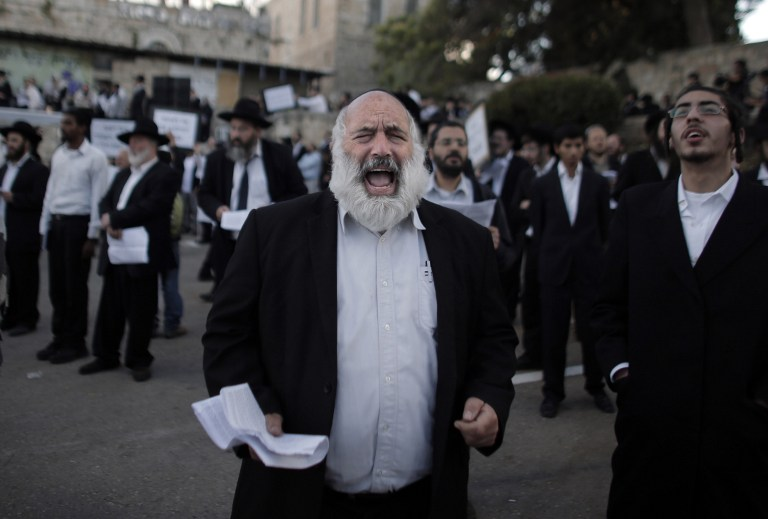 Httpwww Overlordsofchaos Comhtmlorigin Of The Word Jew Html: Orthodox Jews Protest At Disputed 'Last Supper' Site