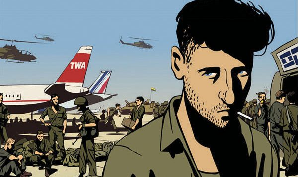"Ari Folman's ""Waltz With Bashir,"" a critical look at Israel's 1982 War in Lebanon. Courtesy of Sony Pictures Classic"