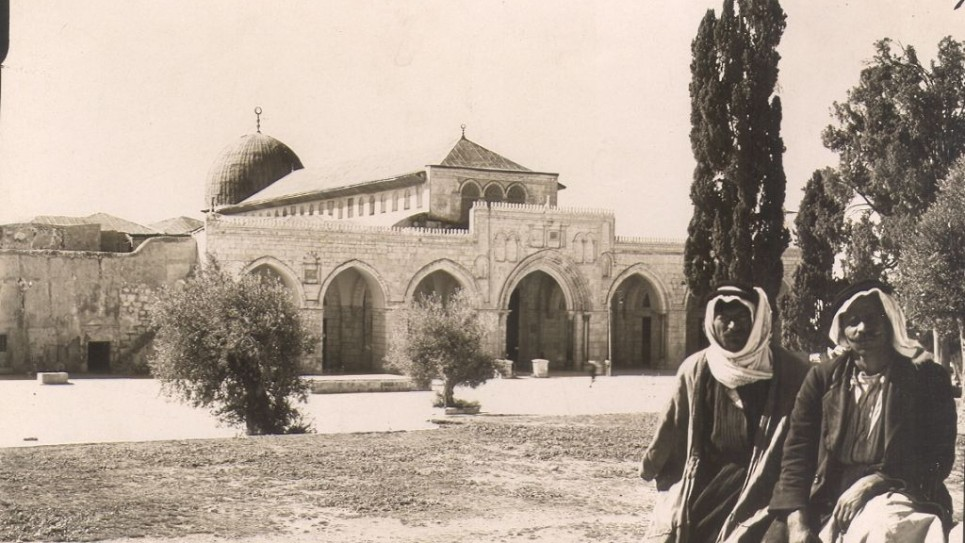 المسجد الاقصى   ( photo credit: © DEIAHL, Jerusalem)