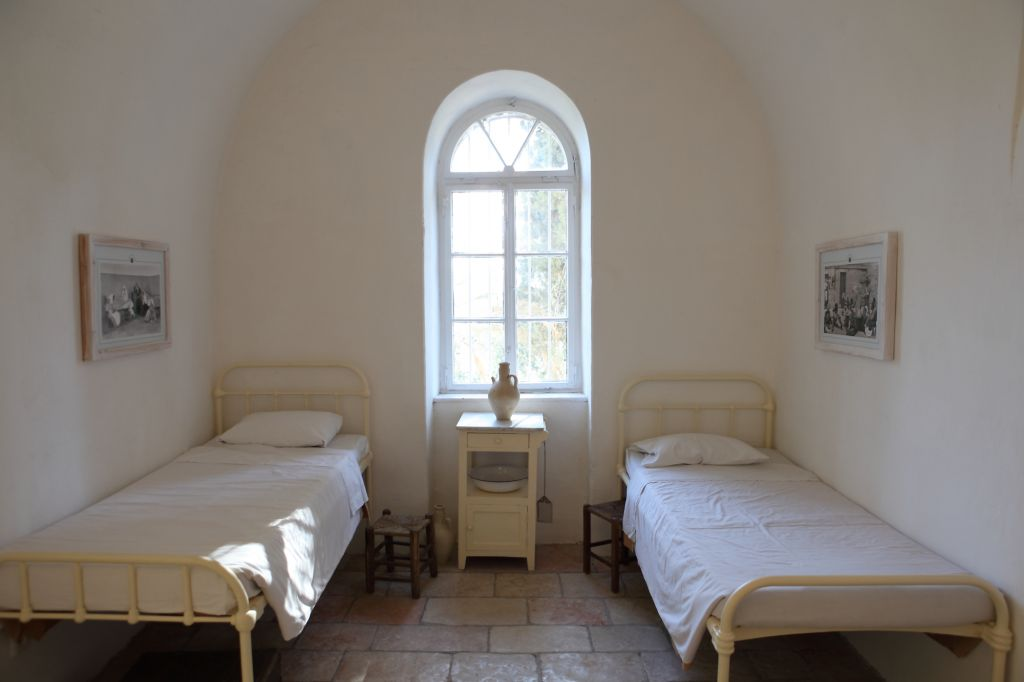 A restored patient room at Hansen Hospital, built in 1887 as a treatment center for people suffering from leprosy (Hansen's Disease) (photo credit: Yaakov Naumi/Flash 90)