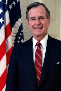 George H. W. Bush photo credit: US Government/Wikipedia)