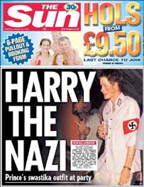 Royal Nazi Controversy (Like we already didn't know about the Nazi windsors)  Harry