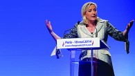 Marine Le Pen Campaign Rally - Paris