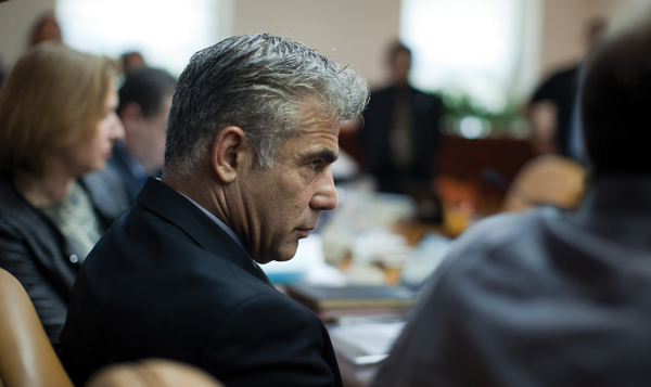 Israeli Finance Minister Yair Lapid has warned of dire economic consequences because of the boycott effort. Getty Images