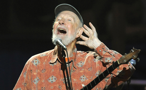 BSD, not BDS: Pete Seeger, argues the author, champions Building Serious Dialogue.  Getty Images