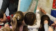 A child's affinity with Israel grows from ties with Jews from afar, be it Haifa or Hartford, a study found. Michael Daitikash/JW