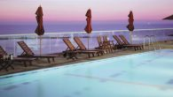 The outdoor pool at The Dan Tel Aviv. Courtesy of Dan Hotels