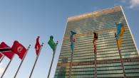 Façade des Nations unies à New York (Crédit : via Shutterstock)