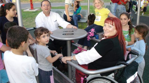 Accessibility in action. Courtesy of Beit Issie Shapiro