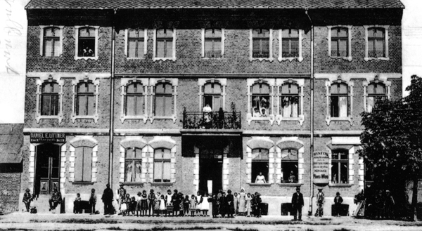 The Hotel Schmiedler in 1912, when many believed Auschwitz was a holy place to die, and better for resurrection. Miroslaw Ganobi